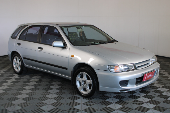 1999 Nissan Pulsar LX N15 Manual Hatchback