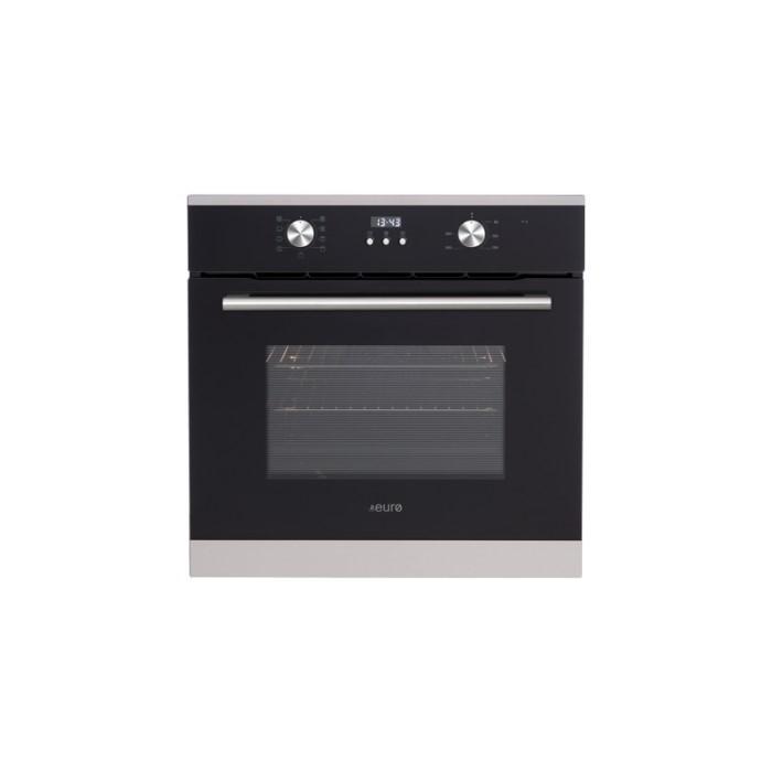 Euro 60cm Black Multifunction Electric Oven, Model: EO608SX