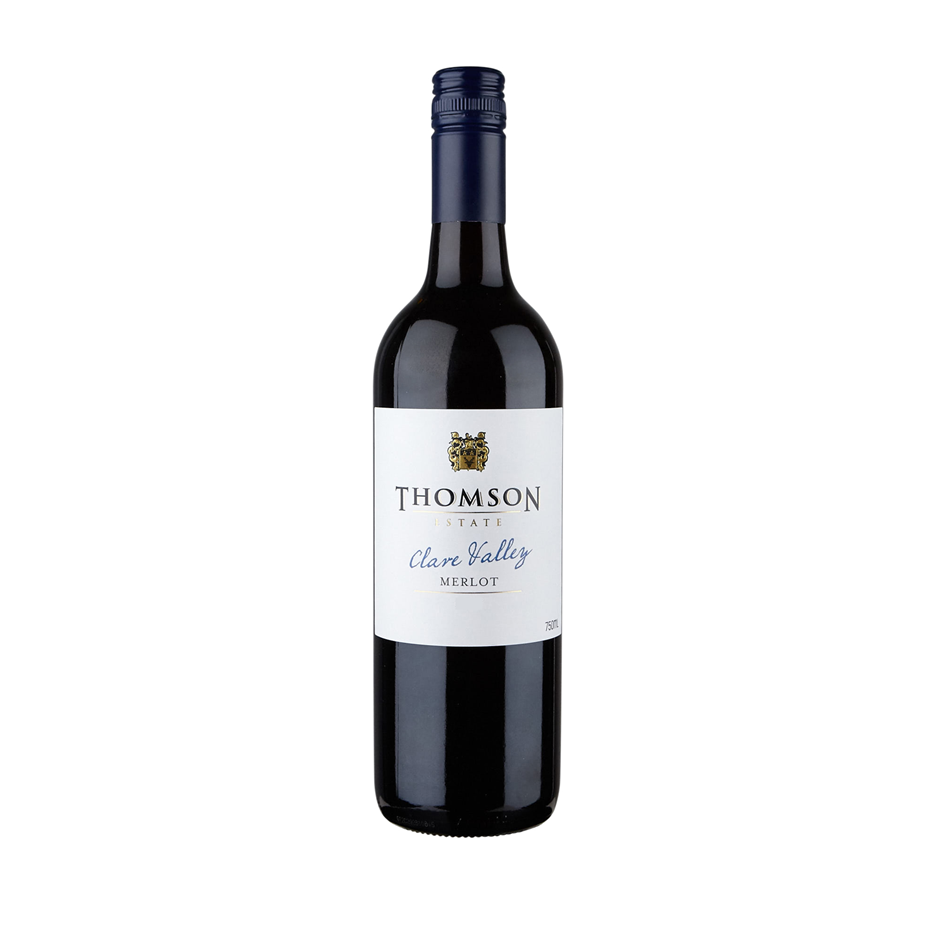 Thomson Estate Clare Valley Merlot 2019 (12 x 750mL) SA