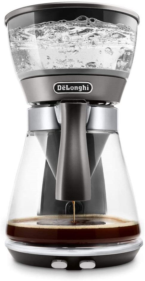 De'Longhi Clessidra, Drip Coffee Machine, Gray, ICM17210