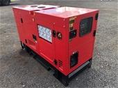 2021 Unused 25 kVA Diesel Generators - Brisbane