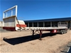 <p>1995 Krueger  ST-4 Quadaxle Flat Top Trailer</p>