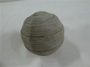 Box of 8 x Decorative Pale Grey Ceramic