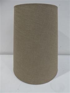 Tan Material Fabric Lamp Shade (Size: 39