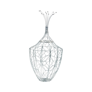 Silver Piper wire Basket (225058) - Size