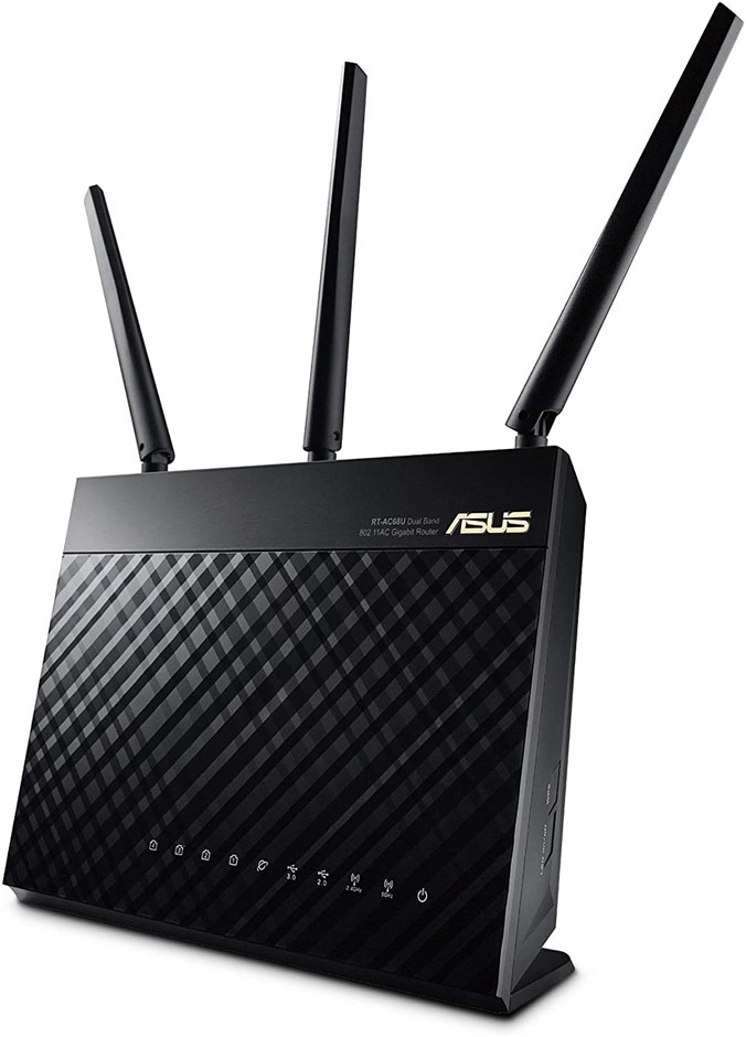 ASUS RT-AC68U, AC1900 Dual Band Gigabit WiFi Router