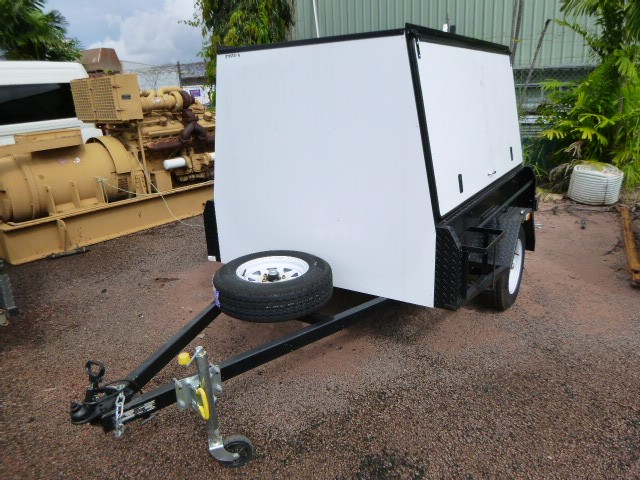 2020 Topend Steel 7 x 5 Canopy Single Box Trailer