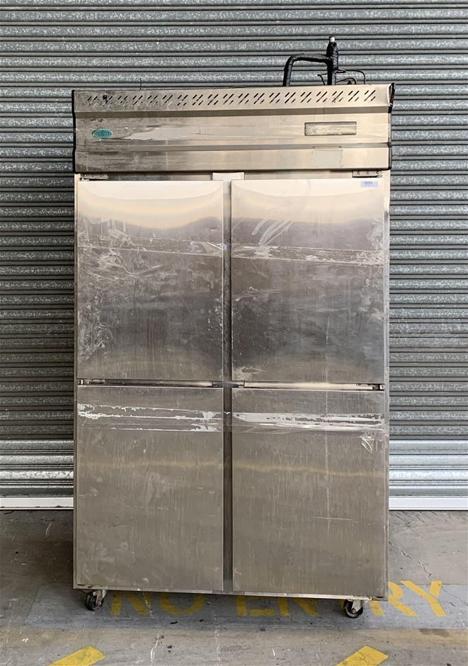 IceBlue 4 Door Upright Freezer