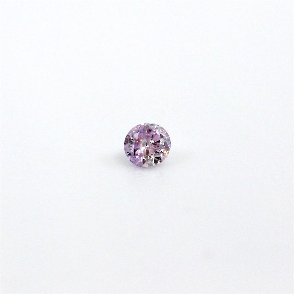0.035ct Pink Diamond