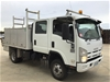 2009 Isuzu NPS 300 4 x 4 Service Truck