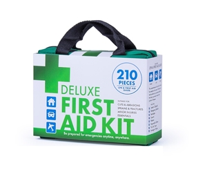 210pc Deluxe Emergency Medical First Aid