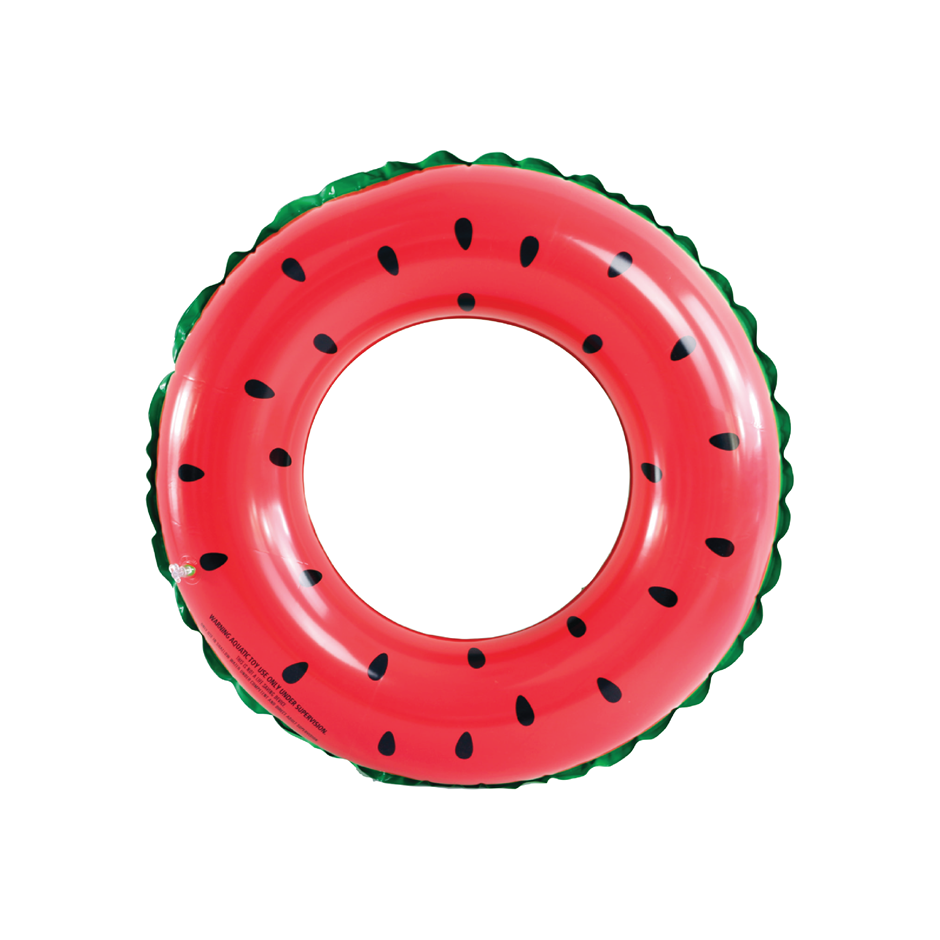 Inflatable Watermelon Swim Ring Summer Pool Float Lounge Toy Fun Outdoor