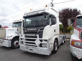 2015 Scania R620 Prime Mover