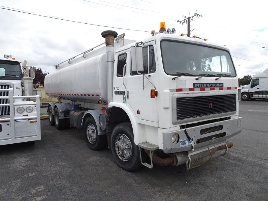 1980 International T2670 Tanker Truck (Mt Gambier, SA)