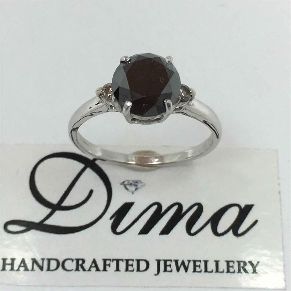 9ct White Gold, 2.75ct Diamond Ring