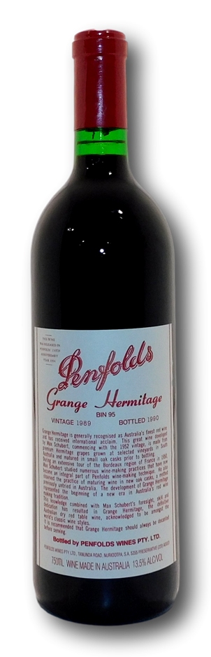 Penfolds Bin 95 Grange 1989 (1x 750mL), SA