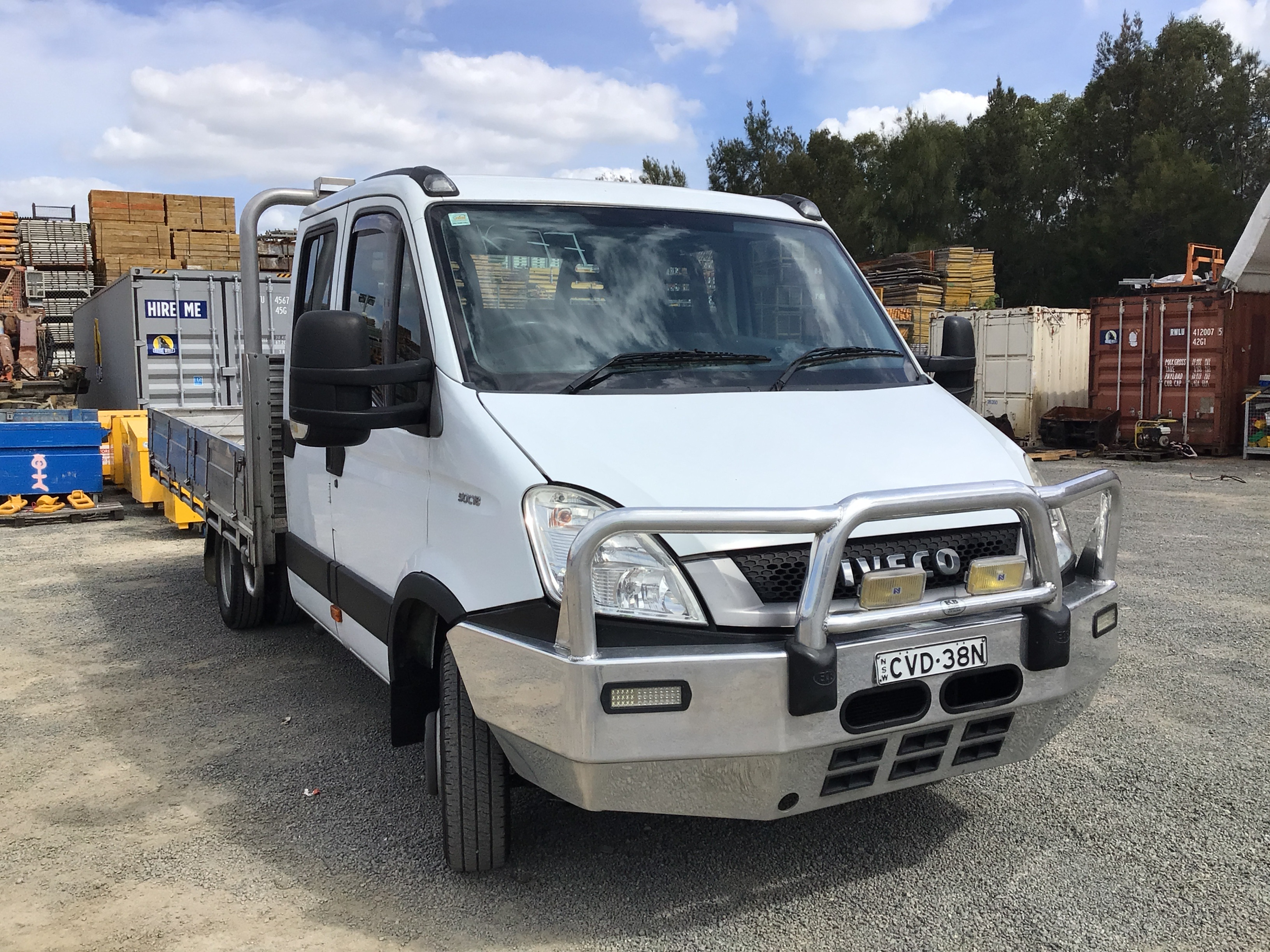 2010 Iveco 50C18 4 x 2 Cab Chassis Truck
