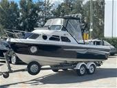 Circa 2004 Caribbean Half Cabin Boat, 200HP Mercury