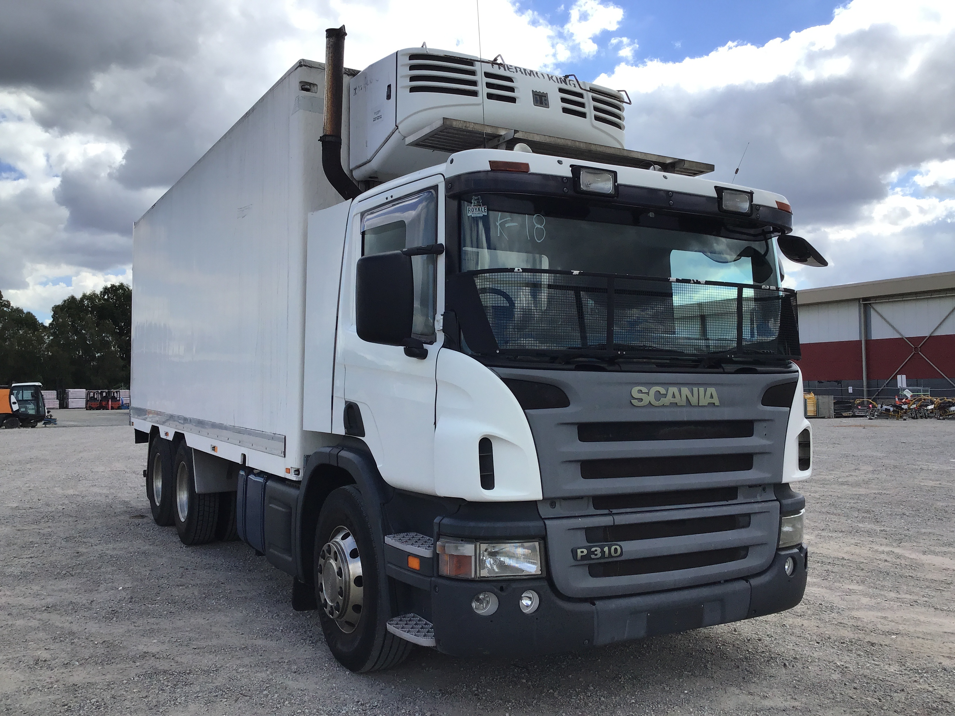 2006 SCANIA P310 6 x 4 Refrigerated Body Truck