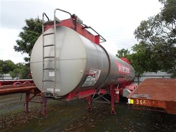 2008 Holmwood Higate 2800 LTR Tanker Trailer
