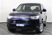 Unreserved 2013 Mitsubishi Outlander ES 2WD ZJ CVT Wagon
