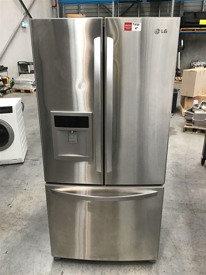 LG French Door Fridge Over Freezer