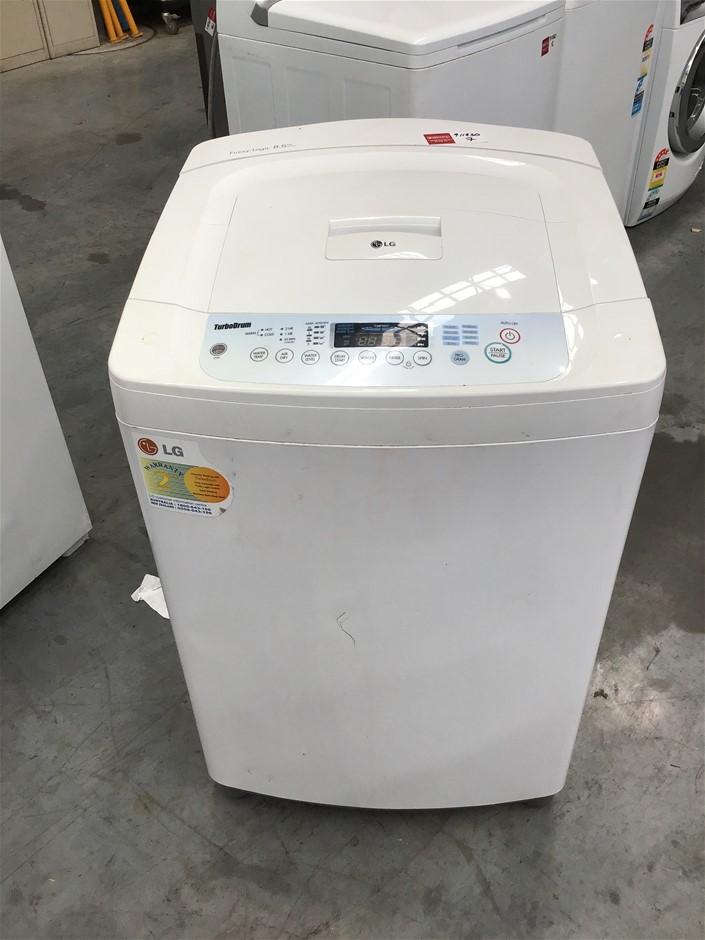 LG 'Fuzzy Logic' 8.5kg Top Load Washing Machine
