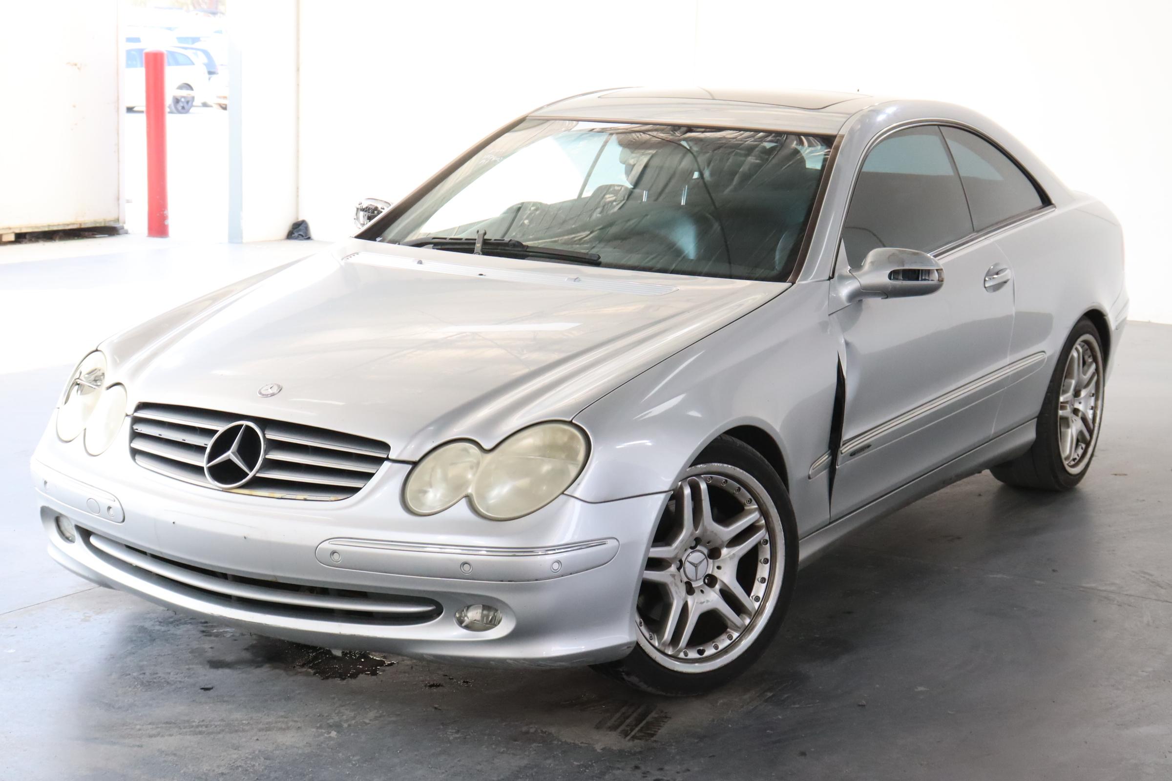 2003 Mercedes Benz CLK320 Elegance C209 Automatic Coupe
