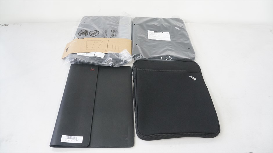 Box of USED Assorted Lenovo Notebook Cases