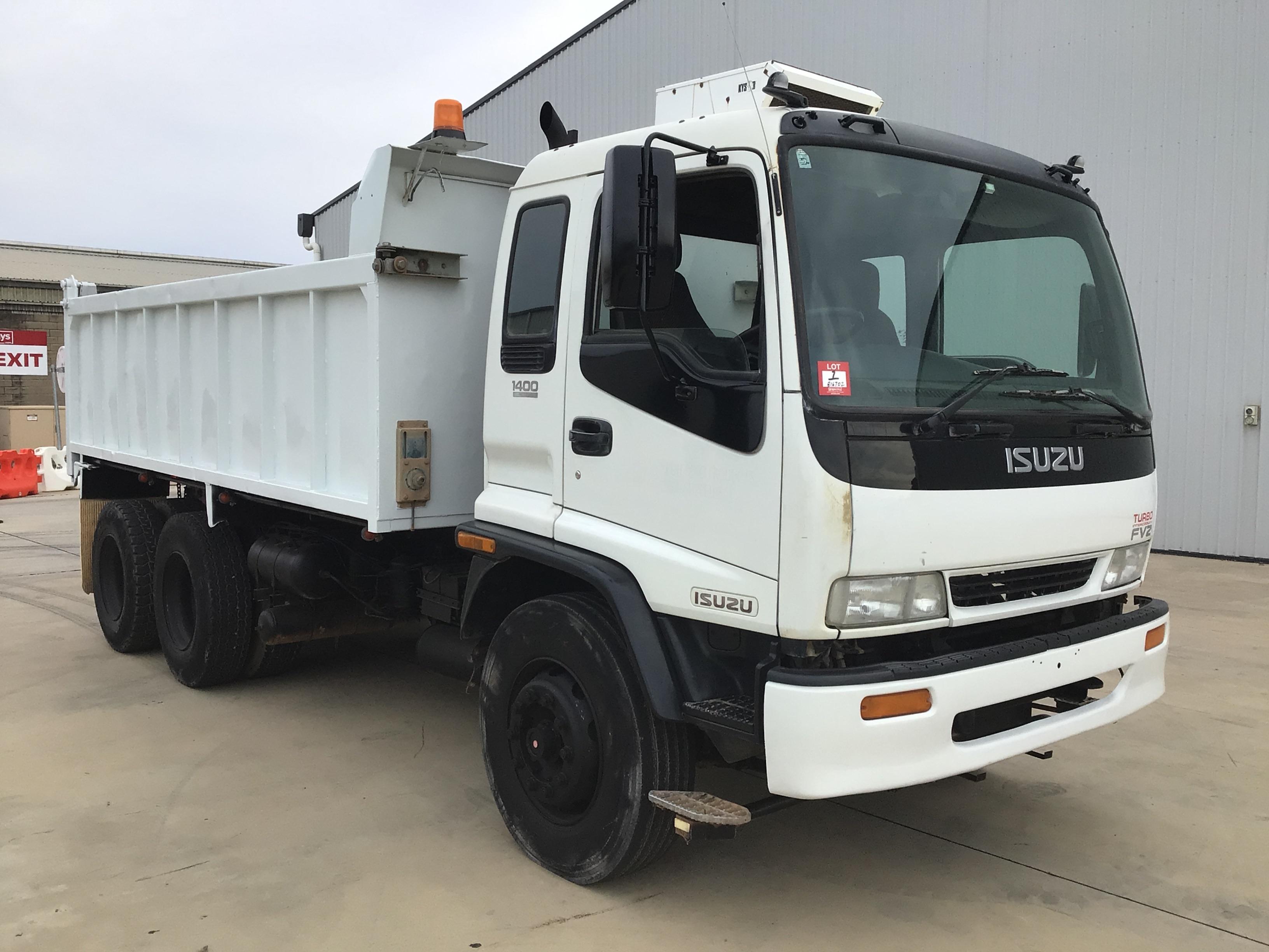 2000 Isuzu FVZ1400A 6 x 4 Tipper Truck