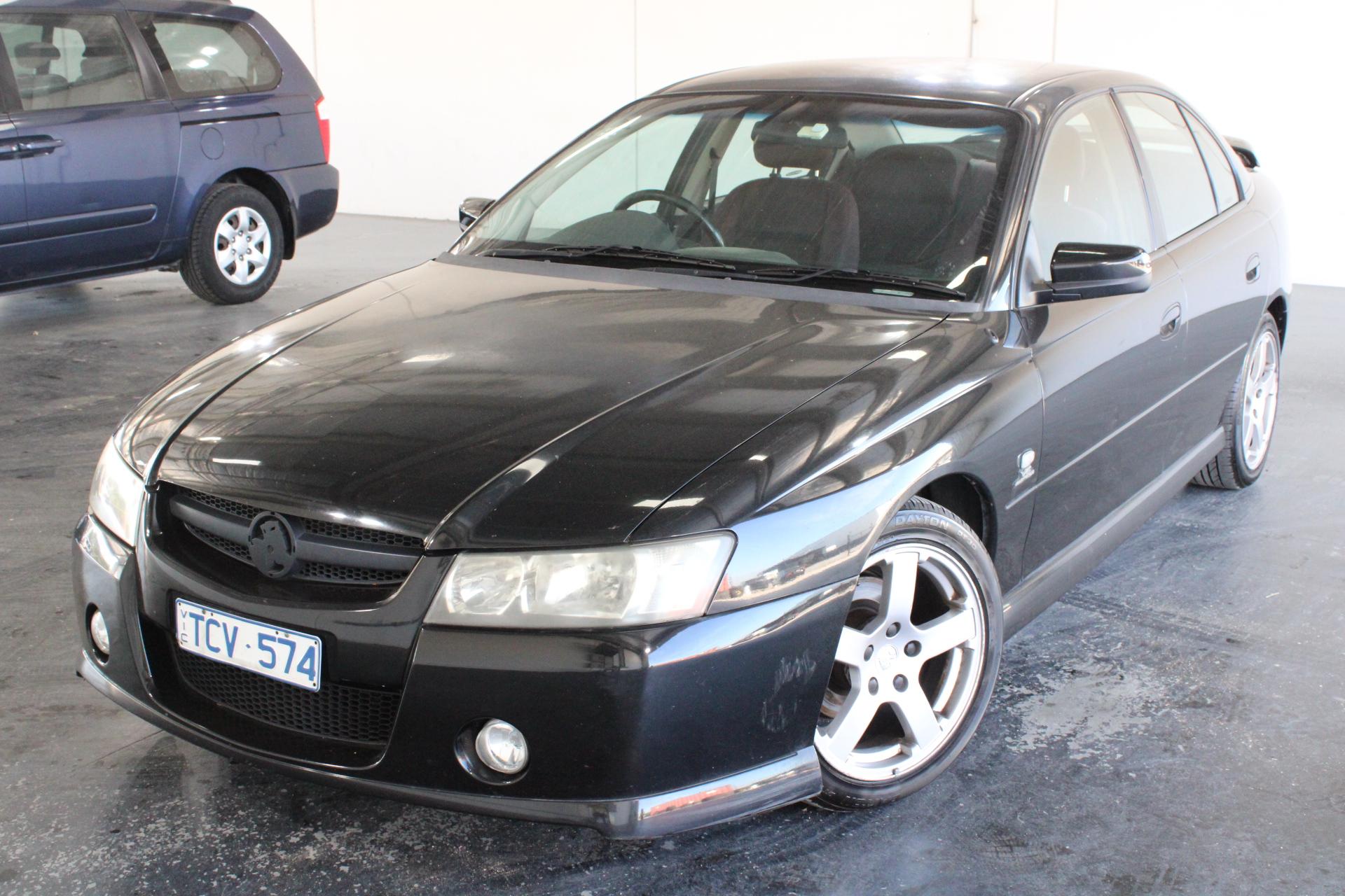 2004 Holden Commodore SV6 VZ Manual Sedan