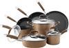 ANOLON Advanced Bronze Hard Anodized Nonstick 11-Piece Cookware Set. Buyers