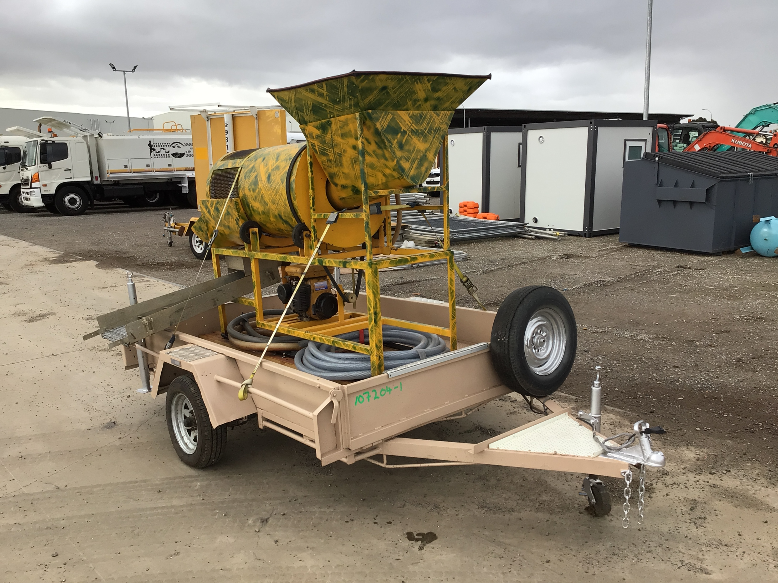 Gold Recovery Trommel Plant & Trailer