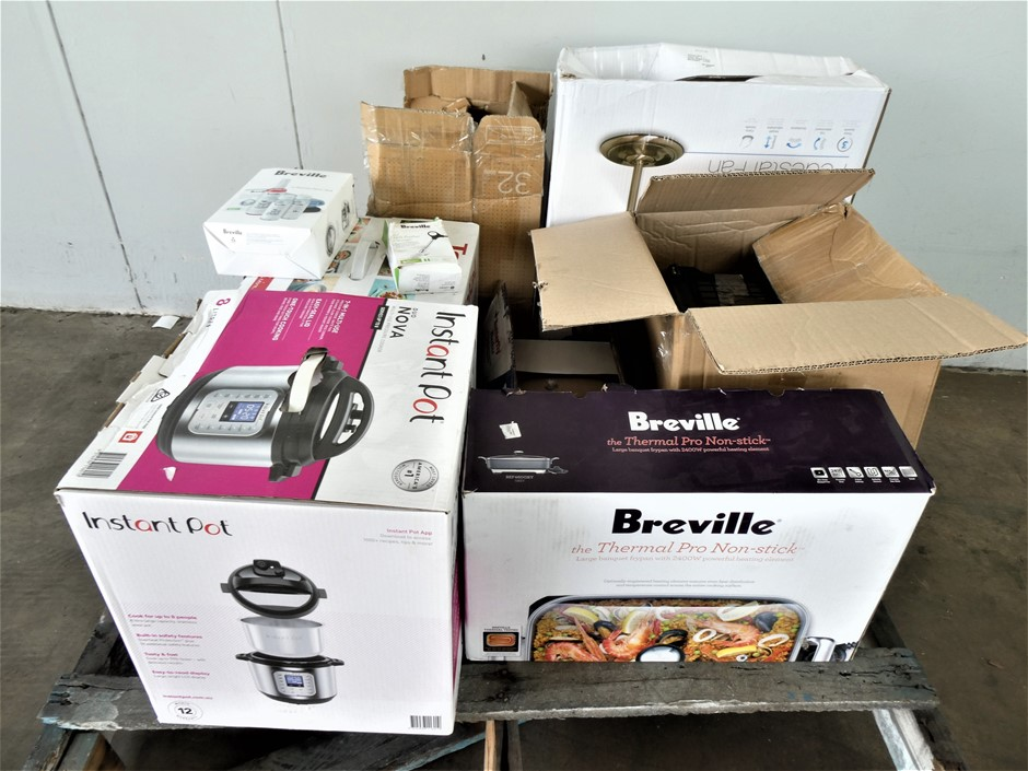 Pallet of Used & Untested Home Appliances & Accessories