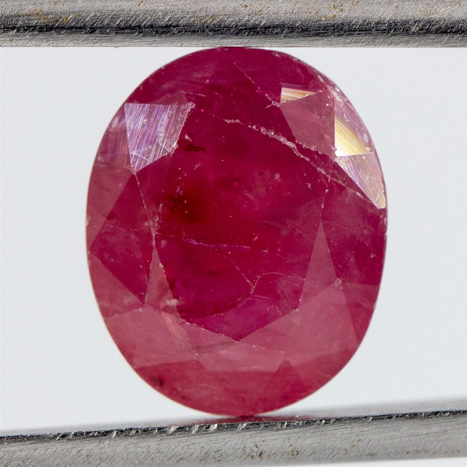 One Loose Ruby, 6.12ct in Total
