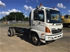 <p>2009 Hino FC4J 4 x 2 Cab Chassis Truck</p>