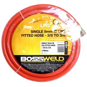 BOSSWELD LPG Gas Single Hose Set 2M x 8m