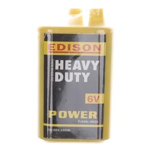 36 x EDISON 6V Heavy Duty Batteries. N.B