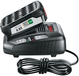 BOSCH 18V Charger & 2.5Ah Lithium-Ion Ba