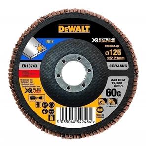 5 x DeWALT Ceramic Flap Discs 125 x 60 G