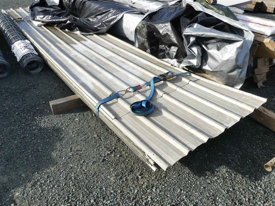 Qty of Zinc Roofing Sheets
