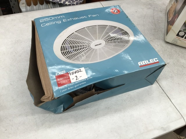 Arlec 250mm Ceiling Exhaust Fan