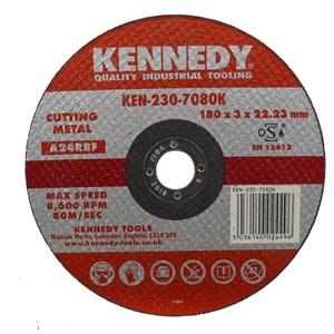10 x KENNEDY Metal Cutting Discs; 180x3x