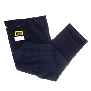 2 x VISTEC Cotton Drill Work Trousers, S