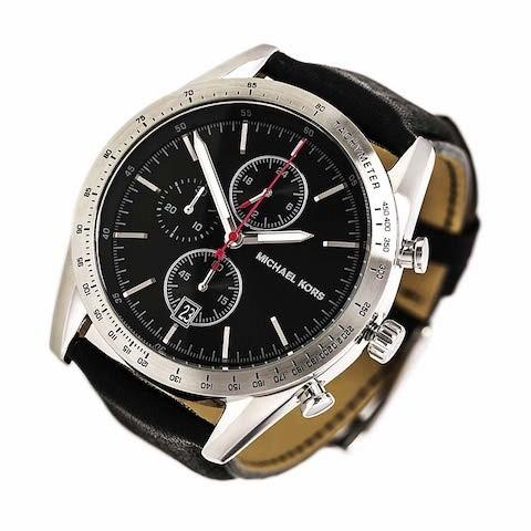 Mens new Michael Kors Couture NY quartz chronograph sporty masculine watch