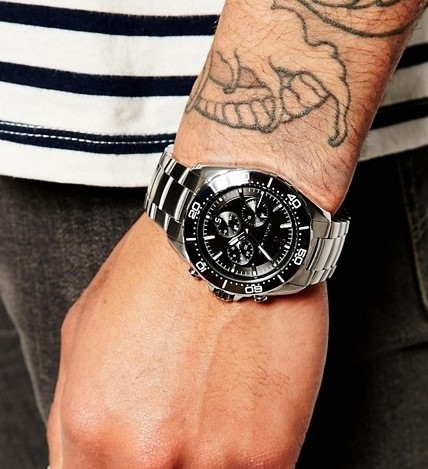 Mens new Michael Kors Couture NY very masculine & sporty watch.