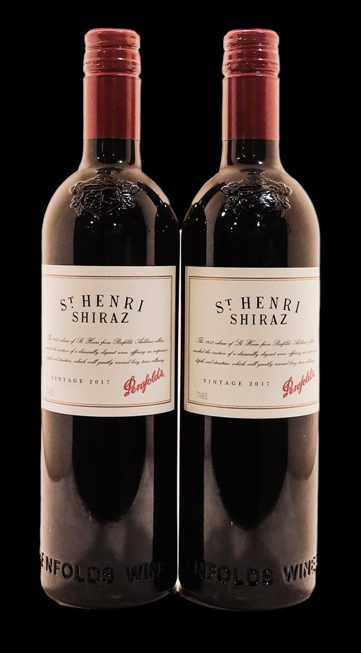Penfolds St Henri Shiraz 2017 (2x 750mL), SA