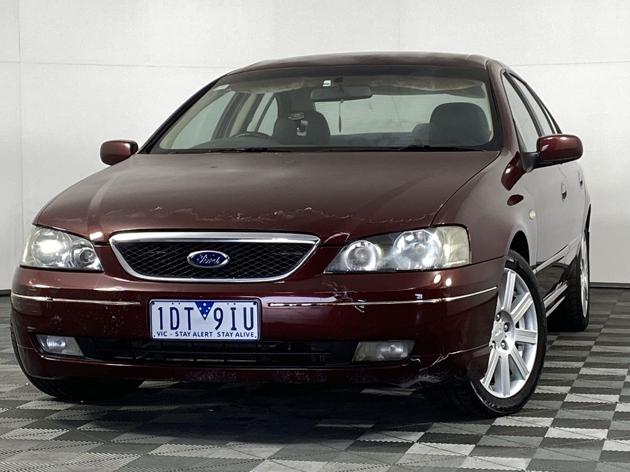 2004 Ford Fairmont Ghia BA Automatic Sedan