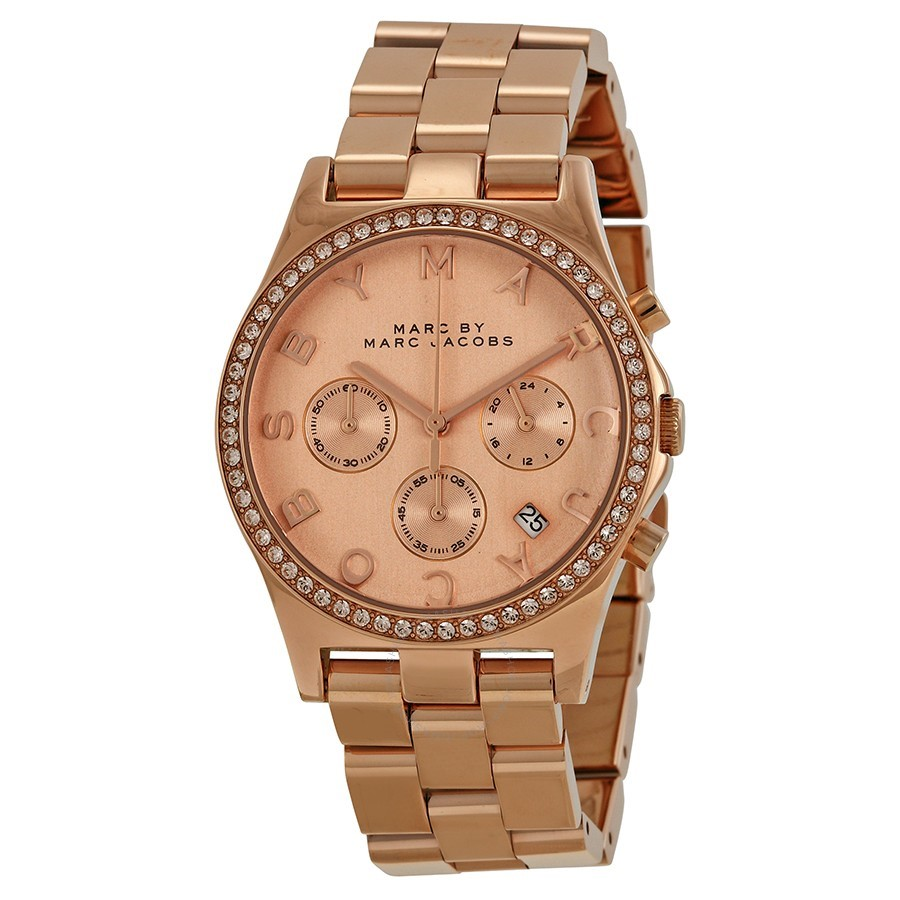 Gorgeous new Marc by Marc Jacobs Rose Gold-tone Ladies Watch.