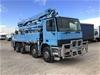 <p>2002 Mercedes Benz  Actros 3240 8 x 4 Concrete Pump Truck</p>